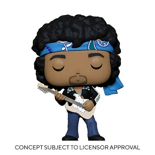 Jimi Hendrix Live in Maui Jacket Pop! Vinyl Figure Preorder