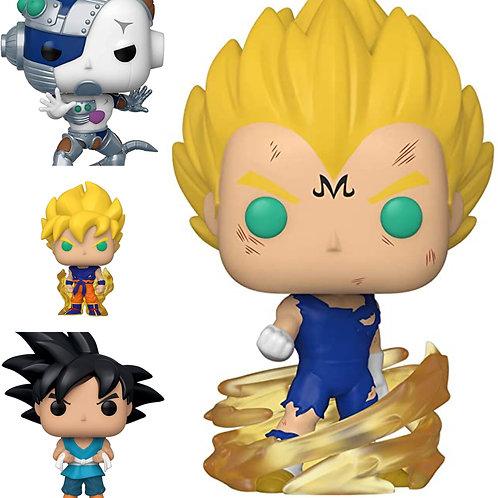 Dragon Ball Z funko pop bundle (set of 4)