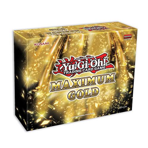 Yu-Gi-Oh Maximum Gold Mini Box Sealed