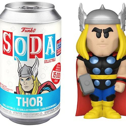FUNKON 2021 EXCLUSIVE Thor - Marvel Vinyl Soda Funko Shop