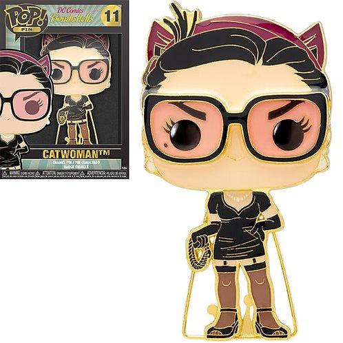 DC Comics Catwoman Large Enamel Pop! Pin Preorder