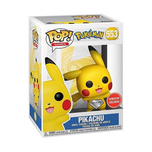 POP! Games: Pokemon Pikachu Waving Diamond GameStop Exclusive