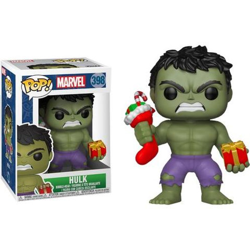 Funko POP! Marvel Holiday Hulk # 398