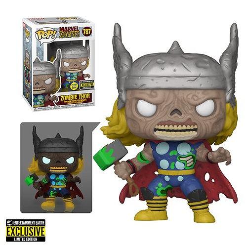 Marvel Zombies Thor GITD Funko Pop! Entertainment Earth Exclusive Preorder