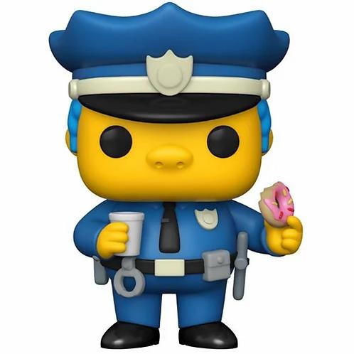 Funko Pop! Simpsons Chief Wiggum Pop! Vinyl Figure