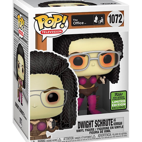 Funko POP! TV: The Office - Dwight as Kerrigan - 2021 ECCC Shared Excl