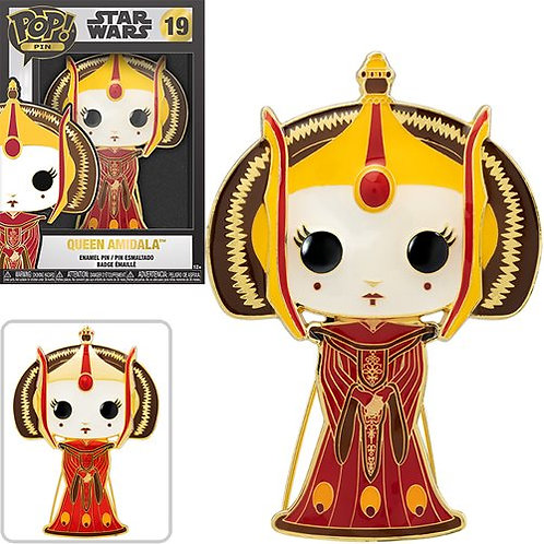 Star Wars Queen Amidala Large Enamel Pop! Pin 1/6 Possible Chase Preorder