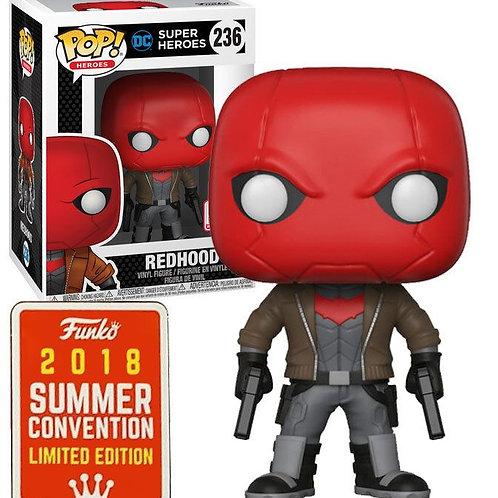 Funko Pop!  DC Super Heroes Red Hood #236  SDCC Summer Convention Exclusive