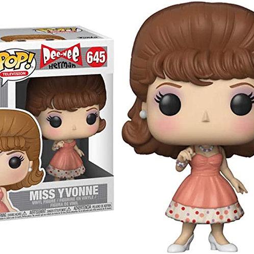 Funko Pop! TV Pee-Wee's Playhouse Miss Yvonne# 645
