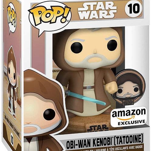 Funko Pop! Star Wars: Across The Galaxy OBI Wan Kenobi Amazon Excl Preorder
