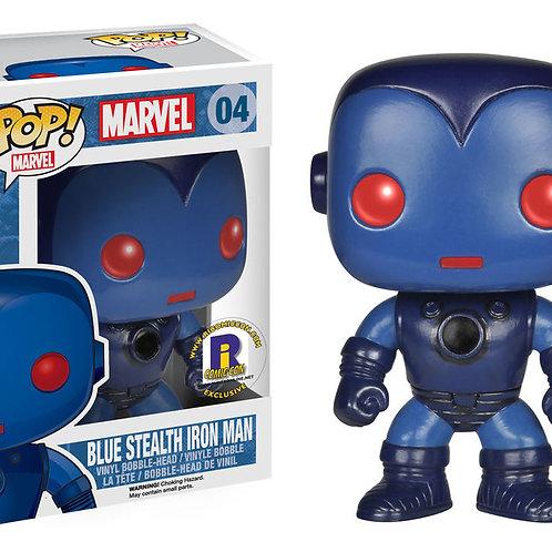Funko Pop! Blue Stealth Iron Man  2014 Rhode Island Comic-Con Exclusive