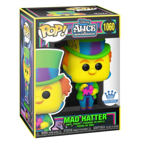Funko Pop! Mad Hatter Black Light Alice in Wonderland FUNKO EXCLUSIVE