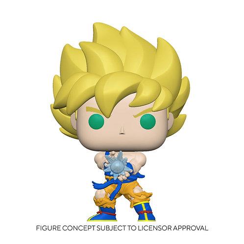 Funko Pop! Dragon Ball Z Super Saiyan Goku W/Kamehameha GITD Preorder FYE Excl