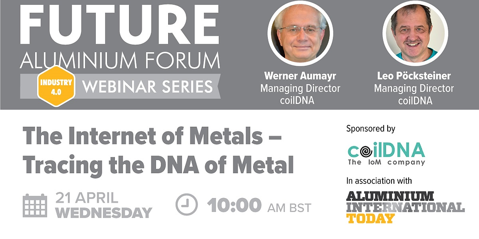 The Internet of Metals