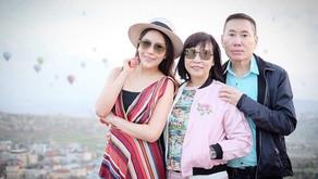 ส่งท้ายปีเก่า ต้อนรับปีใหม่ไทย สงกรานต์ ดร.พิมพ์-พิมพ์ขวัญ หอบพ่อแม่หนีร้อน เที่ยวที่ตุรกี