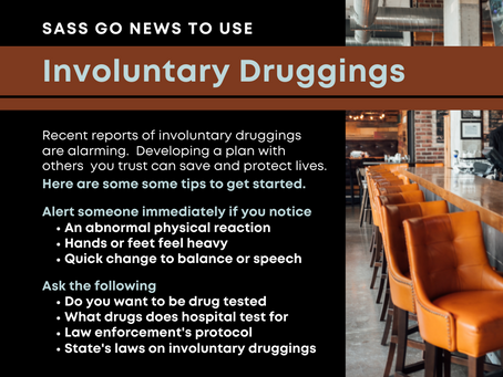 News You Can Use - Involuntary Druggings