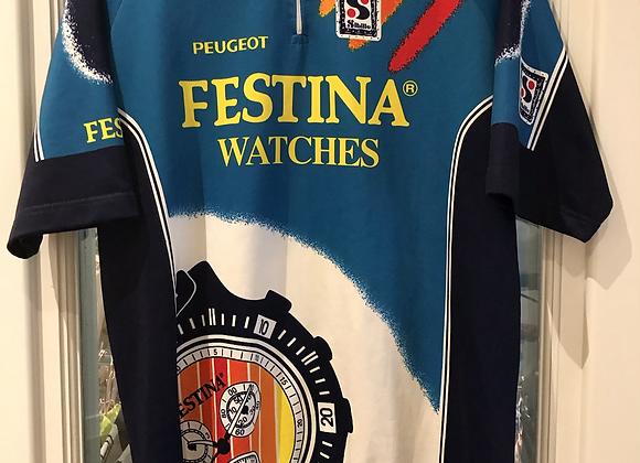 "Festina s/s Jersey. 23"" pit to pit (XL)"
