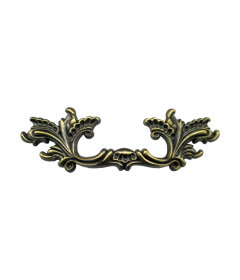 Antique Brass French Provincial Drawer Pull