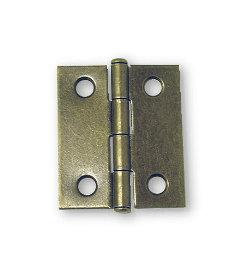 """Antique Brass Butt Hinge - 2"""" X 1-1/2"""""""