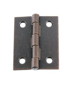 """Antique Copper Butt Hinge - 2"""" x 1 1/2"""""""