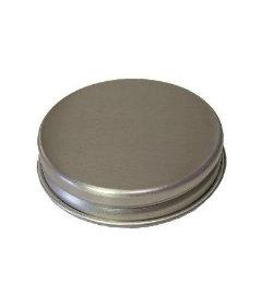 "Aluminum Spice Jar Lid 2-1/2"" (Qty 25)"