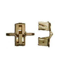 Brass Plated Game Table Concealed Hinge