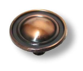 Antique Copper Knob 1 1/4""