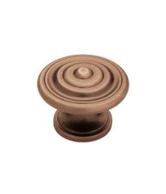 """Antique Copper Concentric Knob 1 3/8"""""""