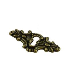 BAG OF SIX Baroque Style Keyhole Escutcheon