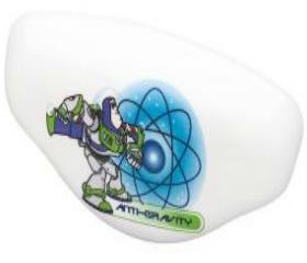 "Anti-Gravity Buzz Lightyear Pull knob - 3"""