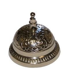 Nickel Counter or Desk Bell