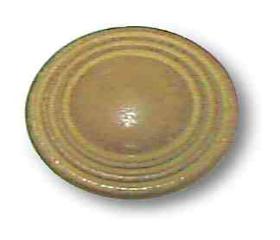 "Ceramic Satin Light Earthtone Knob - 1-1/4"""