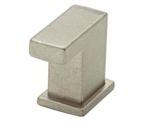 Nickel Limeklin Bedford Finger Pull Knob