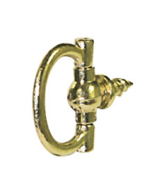 Bright Brass Plated Decorative Picture Ring Wide - 3-Pak - 3/4""
