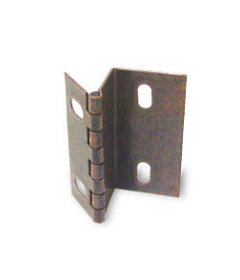 "Antique Copper Butt Hinge - 1/2"" to 5/8"""