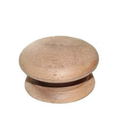 Walnut Knobs - 2""