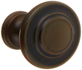 "Antique Rust Amerock Inspirations Knob 1-3/8"""