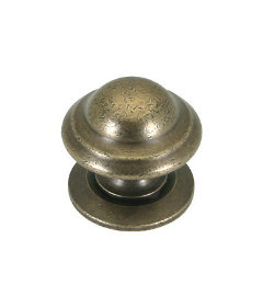 Antique English Domed Knob - 1 5/16""