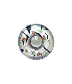 """Fused Glass Murano Handmade Knob -  1 3/8"""""""