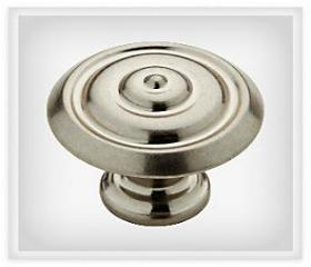 "Bedford Nickel Abella Ring Knob 1 1/4"""