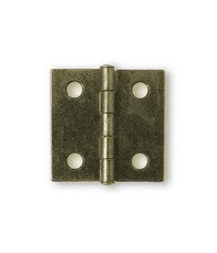 """Antique Brass Butt Hinge - 1-1/2"""" x 1-1/2"""""""