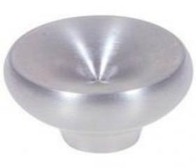 "Stainless Steel Small Round Knob - 1 1/8"""