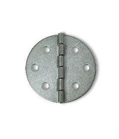 "Steel Round Single Butt Hinge - 2-3/8"""
