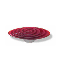 "Betsy Fields Red Swirl Pull - 3 7/8"""