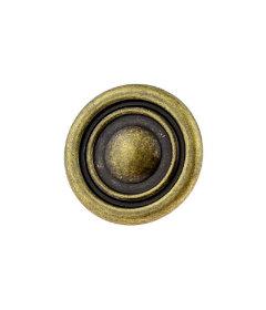 Antique English Button -Top Knob -