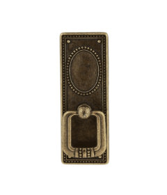 Antique Brass Vintage Federal Style Bail/Drop Pull