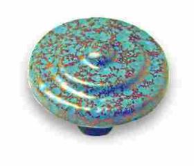 """Verdigris Copper Painted Knob 1-1/4"""""""