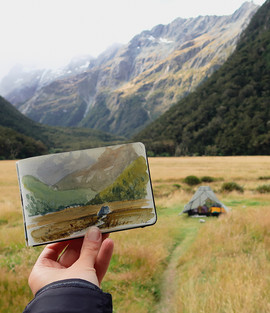 Routeburn track, New Zealand (2019)