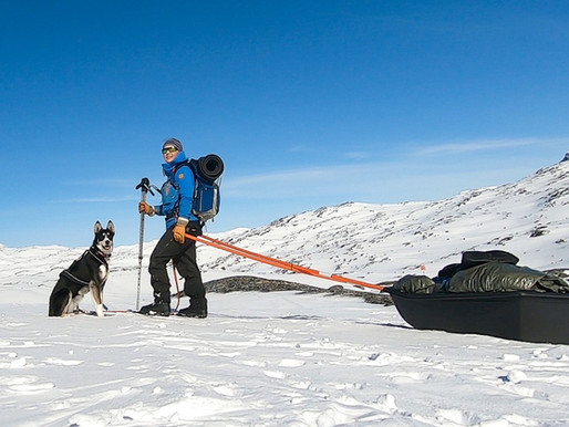 Gear list for my 4-day winter hike in Swedish mountains