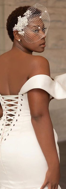 The Signature elleNelle Bridal gown is n